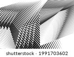 abstract halftone lines... | Shutterstock .eps vector #1991703602
