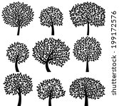 Vector Collection Of Tree...