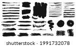brush strokes. grunge paint...   Shutterstock .eps vector #1991732078
