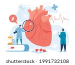 cardiology. cardiologists...   Shutterstock .eps vector #1991732108