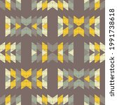 mexican plaid. navajo. seamless ...   Shutterstock .eps vector #1991738618