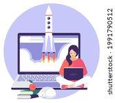 illustration on the topic of... | Shutterstock .eps vector #1991790512