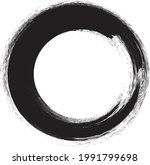 circle brush stroke .vector...   Shutterstock .eps vector #1991799698