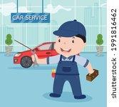 car repair service  auto...   Shutterstock .eps vector #1991816462