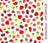 ripe strawberries  wild...   Shutterstock .eps vector #1991849135