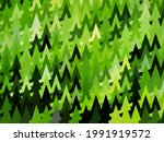 abstract green geometric... | Shutterstock .eps vector #1991919572