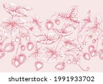 strawberry. ripe berries.... | Shutterstock .eps vector #1991933702