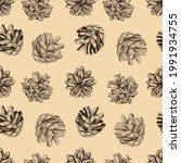 seamless natural pattern... | Shutterstock .eps vector #1991934755