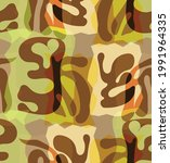 vector seamless pattern of... | Shutterstock .eps vector #1991964335