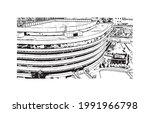 building view with landmark of...   Shutterstock .eps vector #1991966798