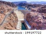 Hoover Dam On Arizona And...
