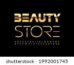 vector elegant banner beauty... | Shutterstock .eps vector #1992001745