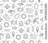 seamless pattern abstract...   Shutterstock .eps vector #1992002285