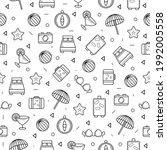 seamless pattern abstract...   Shutterstock .eps vector #1992005558