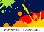 vector abstract background with ...   Shutterstock .eps vector #1992008318
