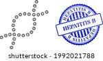 vector crossing mesh genetic... | Shutterstock .eps vector #1992021788