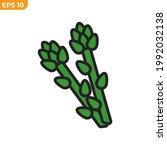 asparagus icon symbol template... | Shutterstock .eps vector #1992032138