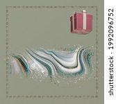 greeting card template design.... | Shutterstock . vector #1992096752