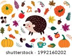 collection of vector... | Shutterstock .eps vector #1992160202
