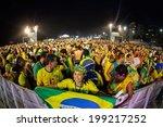 rio de janeiro  brazil   june... | Shutterstock . vector #199217252