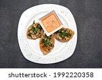 Chalupas With Shrimp Chicharr N ...