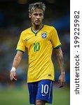 Постер, плакат: Neymar of Brazil during