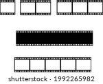 film strip line icon. cinema...   Shutterstock .eps vector #1992265982