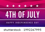 fourth of july. happy...   Shutterstock .eps vector #1992267995