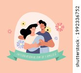 family members day card with...   Shutterstock .eps vector #1992336752