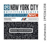 outfitter states  nyc  new york ...   Shutterstock .eps vector #1992361358