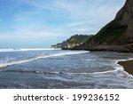 a peaceful landscape of cliffs ... | Shutterstock . vector #199236152