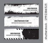 vector set template banner...   Shutterstock .eps vector #1992386525