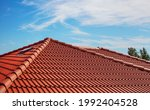 Modern House   Red Clay Tiled...