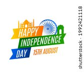 independence day in india...   Shutterstock .eps vector #1992421118