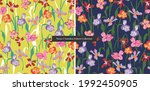 vector hand drawn colorful...   Shutterstock .eps vector #1992450905