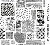 seamless pattern with different ...   Shutterstock .eps vector #1992454772