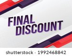 special final discount word...