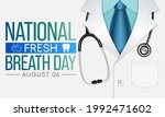 national fresh breath day is...   Shutterstock .eps vector #1992471602