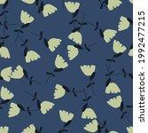 random style seamless pattern...   Shutterstock .eps vector #1992477215