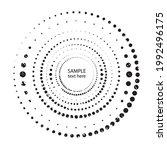 textured halftone dots in...   Shutterstock .eps vector #1992496175