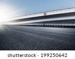 empty road  overpass of...   Shutterstock . vector #199250642