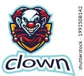 elements clown head esport logo | Shutterstock .eps vector #1992508142