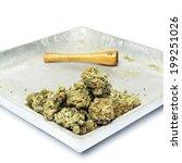 marijuana and cannabis... | Shutterstock . vector #199251026