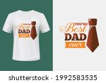 you're best dad t shirt design | Shutterstock .eps vector #1992583535