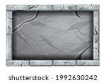 stone sign board game ui...