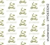 electric scooter background.... | Shutterstock .eps vector #1992633242