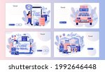 time to travel. tourism. trip... | Shutterstock .eps vector #1992646448