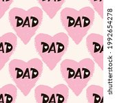 happy father's day. trendy... | Shutterstock .eps vector #1992654278