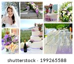 the best moments of the wedding  | Shutterstock . vector #199265588
