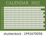 2022 calendar planner. ... | Shutterstock .eps vector #1992670058